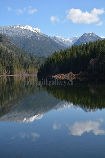 Antler Lake on Vancouver Island