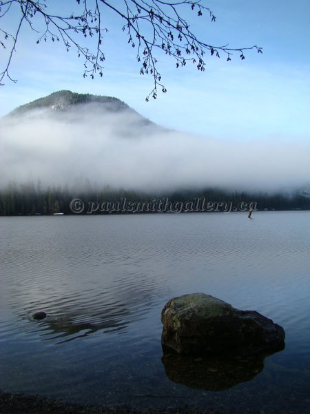 Muchalat Lake on Vancouver Island