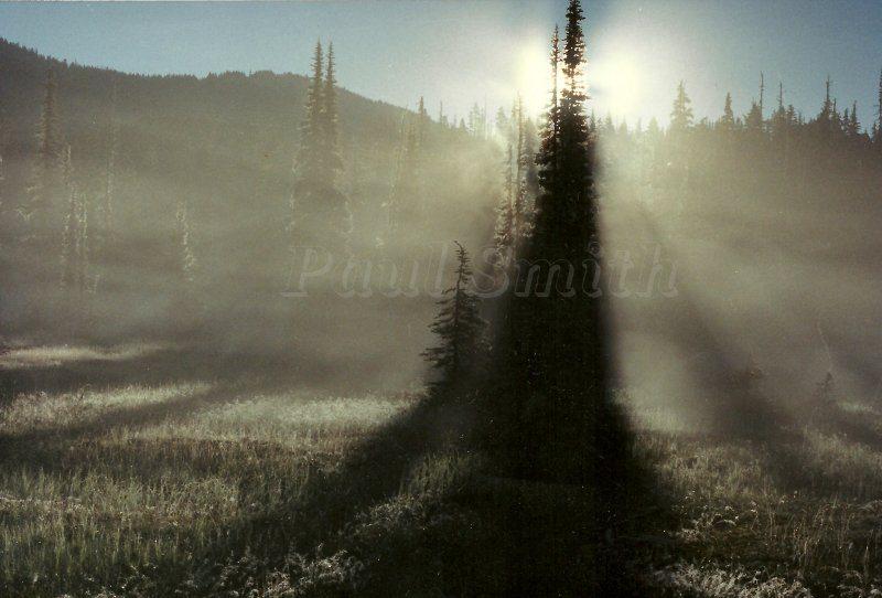 Mount Washington Sunshadows