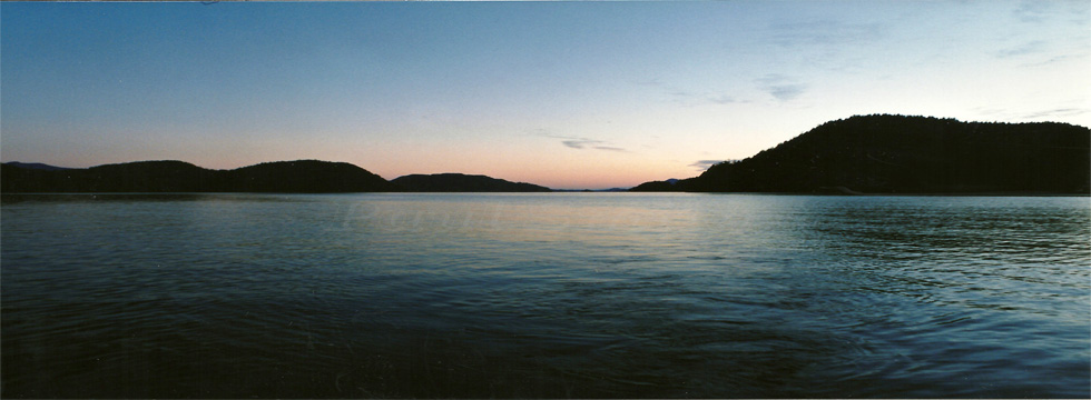 Sunset at Hisnit Inlet